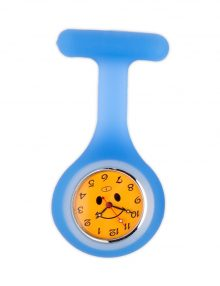 Alexandra smiley face gel fob watch