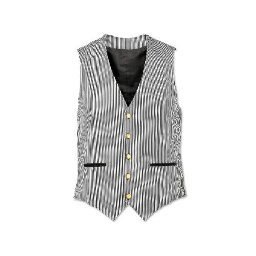 Alexandra men's striped waistcoat
