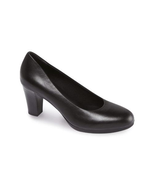 Footsure women's plateau court shoe