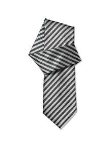 Alexandra woven stripe ties