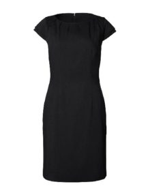 Alexandra Icona gathered neck dress