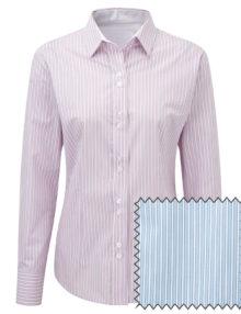 Alexandra women's long sleeve stripe shirt