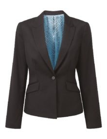 Alexandra Cadenza women's one button jacket