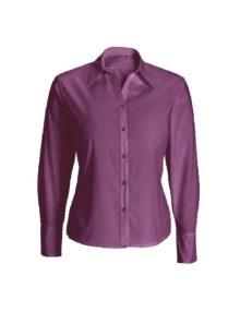 Alexandra women's woven colour long sleeved shirt