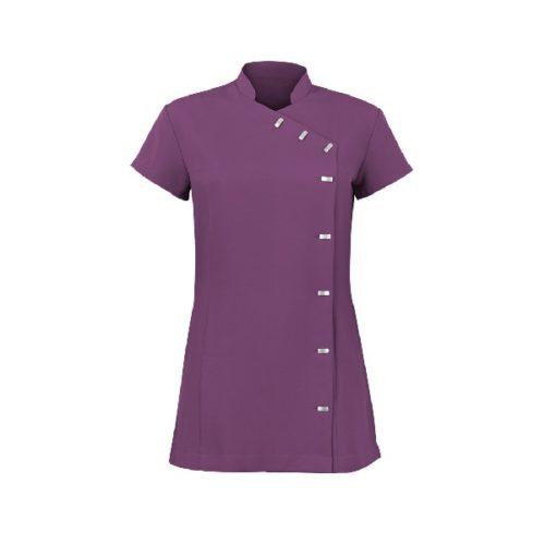 Alexandra women's Easycare wrap button beauty tunic