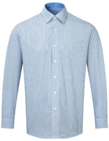 Alexandra men's long sleeve stripe shirt
