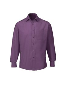 Alexandra men's woven colour cutaway collar shirt