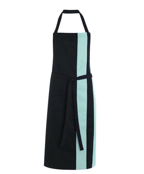 Alexandra contrast bib apron