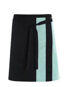 Alexandra contrast waist apron