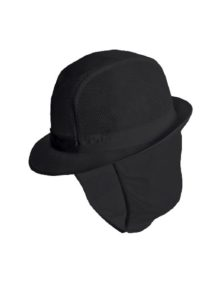 Alexandra trilby hat with snood