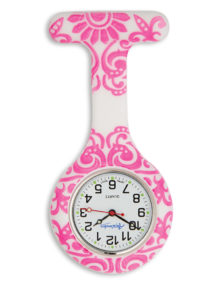 Alexandra print fob watches