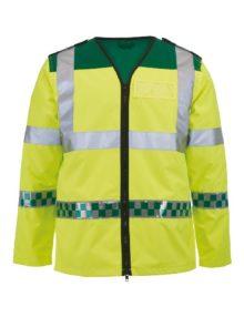 Alexandra ambulance long sleeved hi-vis waistcoat