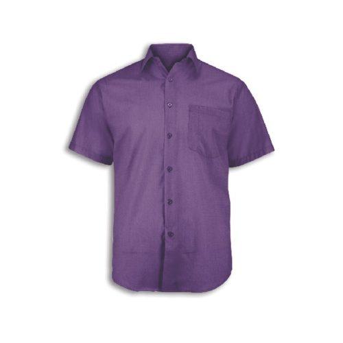 Alexandra men's woven colour short sleeved shirt