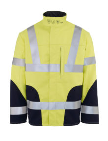 HB Hi-vis flame retardant softshell jacket
