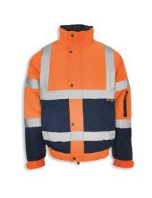 Alexandra hi-vis two-tone bomber jacket