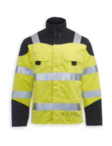 HB Hi-vis flame retardant Habetex Multisafe Pro and Arc jacket