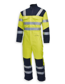 HB Hi-vis flame retardant Habetex Multisafe Pro and Arc coverall